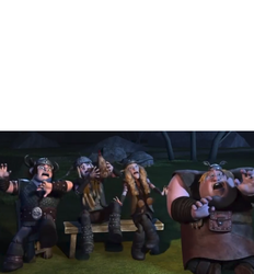 Scared Hiccup's Friends Meme by sydneypie