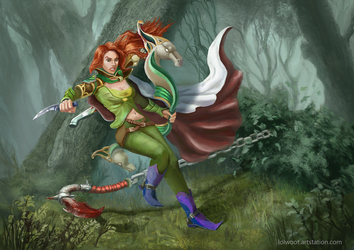 Windranger by Lolwoot1337