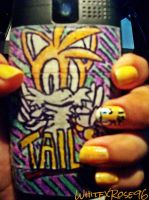 My Tails Phone Design by WhiteXRose96