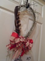 DIY - Winter Wreath by taniathepirate