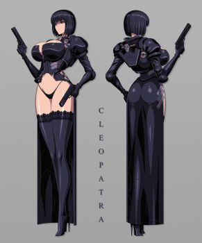 Cleopatra (character design) by akiranime