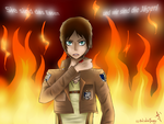 Shingeki no Kyojin - Eren Jaeger Wallpaper by ArtisticJessy