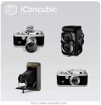 Classic Cameras Mac Version by iconcubic