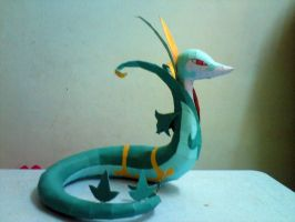 Serperior Papercraft 2 by riolushinx