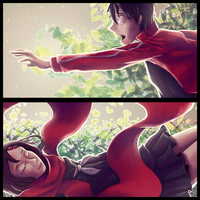 Kagepro - The Color of Heroes by Cheesycorn