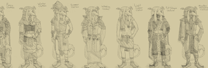 Sidal Outfit Sheet by Markus-The-Madman