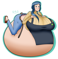 Another Rinko Belly by SongOfSwelling