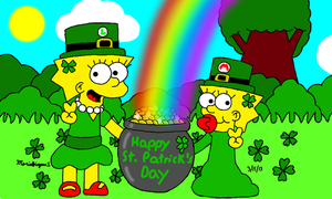 Happy St Patrick's Day by MarioSimpson1