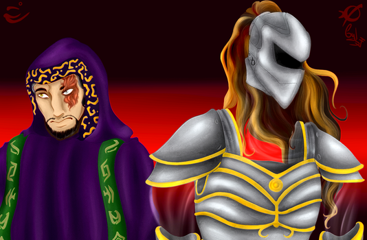 Legacy of Kain:Malek and Anarcrothe. by Sverdy
