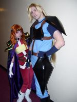 Lina and Gourry by PaladinCecil