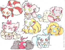 Fluffy Pokemon Hybrid Adopts CLOSED