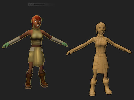 female seed Wip by ConceptGuy