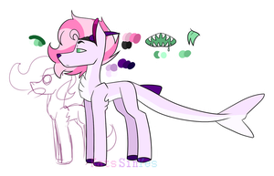 |MLP OC REF|Cotton Stuck by KatsSinYes