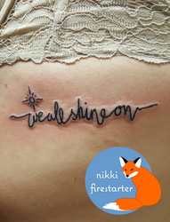 We All Shine On Tattoo by NikkiFirestarter