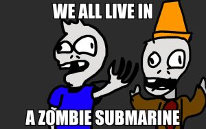 LuigiFan00001 Fan art: Zombie Submarine by Wrenchy247