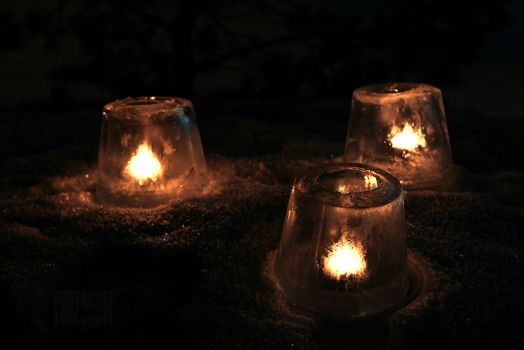 Ice Lanterns by Truesome