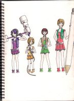 The Powerpuff Girls Y Colour by viviangelordevil