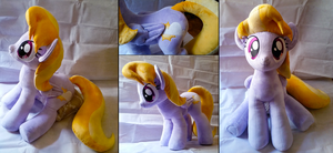 Cloud Kicker Life-Size Plushie by RainbowSnowHeart