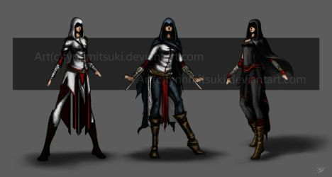 Assassin by FynnMitsuki