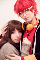 Seven x MC, Mystic Messenger by Doriri-chan