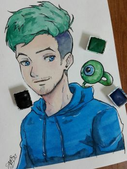 Jacksepticeye by SuperG0blin