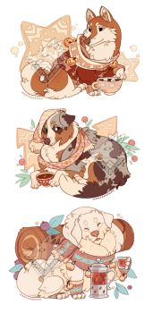 Winter Dogs by morteraphan
