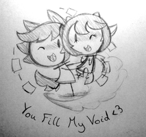 You Fill My Void by SilviShinyStar