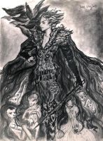 John Uskglass  the Raven King by obperob