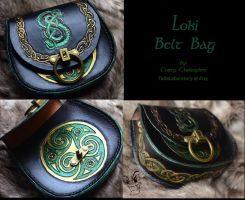 Loki Belt Bag by CoreyChiev