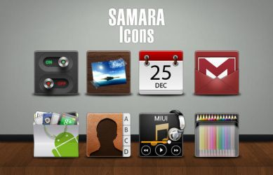 SAMARA Icons by marcarnal