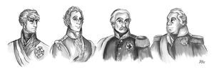 Napoleons Adversaries by Pelycosaur24