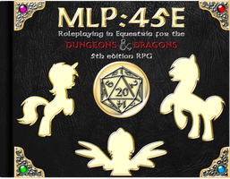MLP45E - Dungeons and Dragons With Ponies! by cheezedoodle96