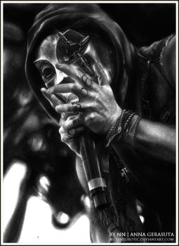Danny of Hollywood Undead by NutaNeurotic