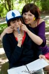 Dipper and Mabel Pines | Teen | II by Wings-chan