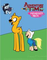 Adventure Time Friendship is Magic by elvisshow