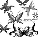 Fantasy Wing Brushes by cosmos-Resources