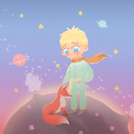 little prince fan art comm by Lemanntim