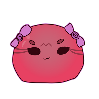Gatcha Result 6, Red Jelly Bean by Feline-for-life