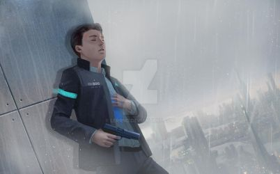 fanart detroit become human by Lerrno
