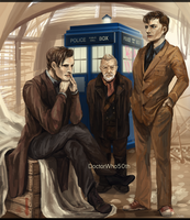 The day of the Doctor by Lhax