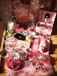 HelloKitty stuff x3 by NanakoHarrison