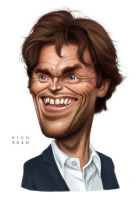 Willem Dafoe :: final by ElectroNic0