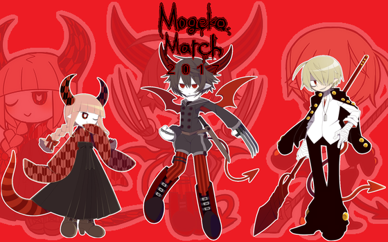 Mogeko March 2017 Day 23 The Merc Trio Theme by PhotographerFerd
