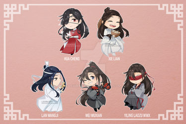 MDZS and TGCF Chibis!