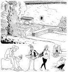 Life drawing - Alhambra by Tallychyck