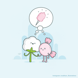 Cotton Candy by NaBHaN