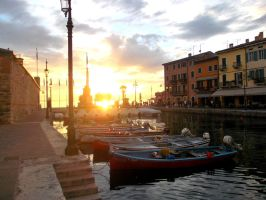 ~ Port of Lazise by Acethirn