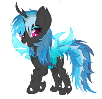 Rainbow Dash ( changeling vision ) by Law44444