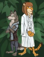 [HALLOWEEK] Entry 7 : Wolford and Fangmeyer by Ziegelzeig