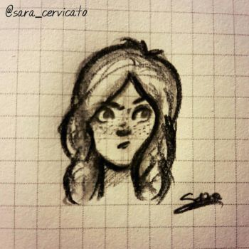 just a little doodle :) by SaraCer03